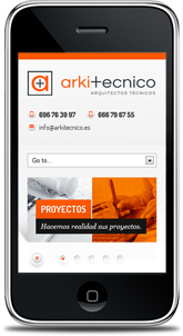 Esta web está optimizada para smartphone